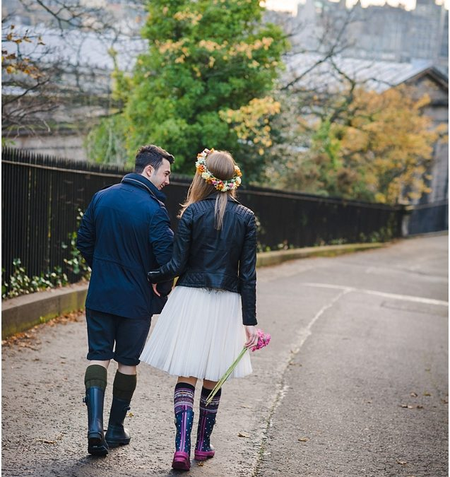 Milda & Izmir – Post wedding photography at Calton Hill