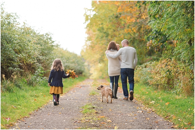An Autumnal family session