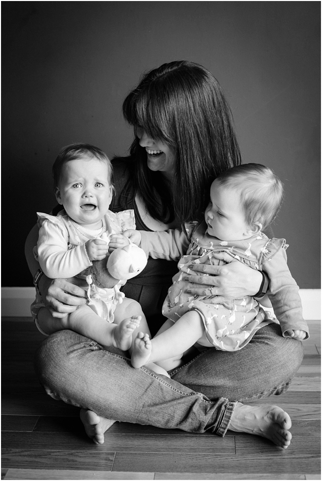 I love this, it sums up working with twins perfectly !