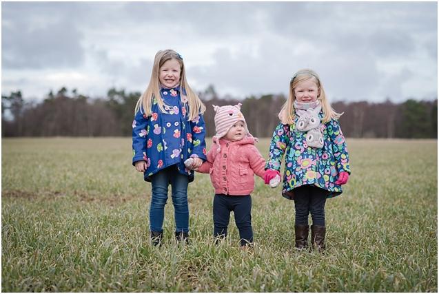 Charlotte, Rebecca & Grace